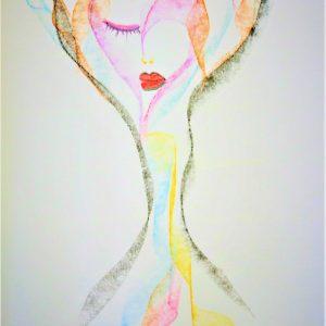 I Am WithIn - I AM ART by Melania Adony