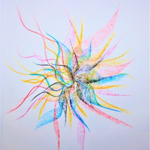I AM LIFE SEED - I AM ART by Melania Adony